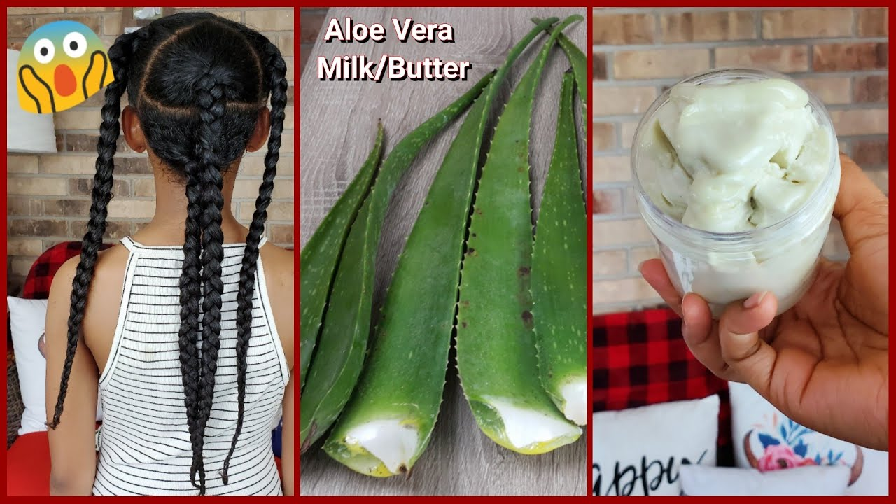 Extreme Aloe Vera Milk Butter For Massive Hair Growth & Shine || Stop Dryness And Breakage