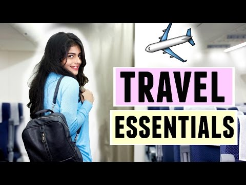 What's in my carry on? || Airplane/ Travel Essentials