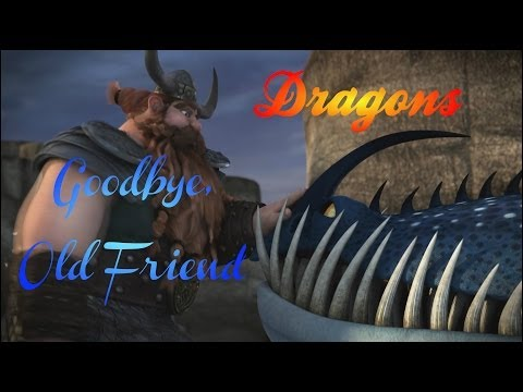 HTTYD (Thornado & Stoick) ~ Goodbye, Old Friend: In honor of Thornado, Stoick's dragon, who was tamed by Stoick in Episode 7 of Dragons: Riders of Berk and set free in Episode 18 of Dragons: Defenders of Berk. This is so we all may say goodbye to our favorite Thunderdrum.  I loved Thornado. Among the dragons, he is one of my favorites, up there with Toothless and Meatlug. I'm very sorry to see that he was written only for the show and will not be included How to Train Your Dragon 2. (And if they were going to write him in and then write him out, why was he created in the first place? That's not okay, DreamWorks!)  But all the same, I found Stoick's and Thornado's story very personal. I had to say goodbye to my best and dearest friend, my horse Jetta when I went to college half a country away (as I'm sure many of you are tired of me saying). But when I did it, I did it knowing it was for the best. I was headed off into my new life, and it would be stressful for me and for Jetta for me to force her to come with me all that way. That being as it is, she is up for sale. The reason is that I don't want her to spend these next four years without someone who can love her and care for her as I once did. I want her to have someone. So I let her go.  Just as Stoick let Thornado go in order to do the right thing. And it was hard...but it was what needed to be done.  In this video, I included every episode Thornado featured in with the exception of Defenders of Berk Episode 16