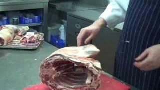 The Thatchers Arms butchers a lamb