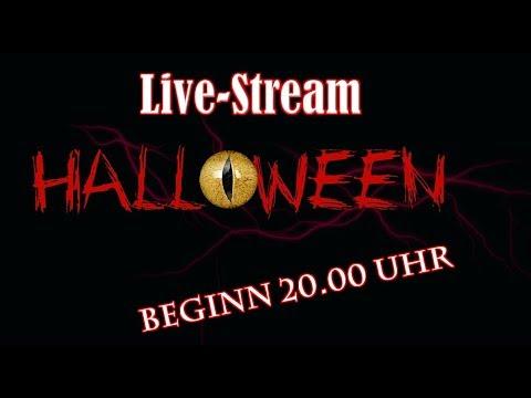 Livestream am Halloween