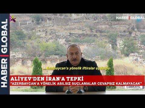 Aliyev, İran'a Böyle Yüklendi: Buradan Tüm Dünyaya Söylüyorum Cevapsız Kalmayacak!