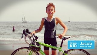 Jacob, the Triathlete Philanthropist | Citizen Kid by Disney