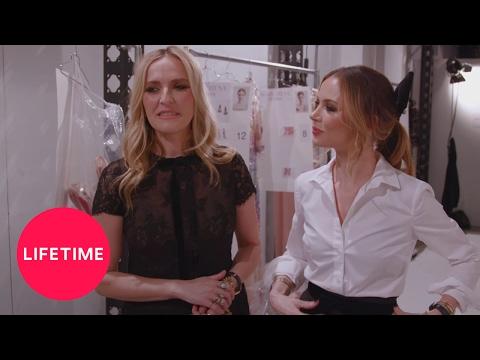 Behind the Seams: Georgina Chapman at Fashion Week  NYFW on Lifetime