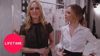Behind the Seams: Georgina Chapman at Fashion Week | #NYFW on Lifetime