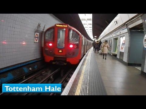 London Underground : Tottenham Hale | Victoria line ( 2009 Tube Stock )