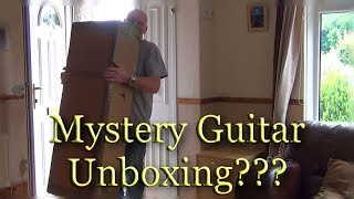 Mystery guitar unboxing!!