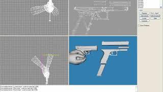 Урок 4 5 MS tutorial Pistol (ВИДЕОУРОКИ; 3ds Max; 3D Modeling; 3D Моделирование)