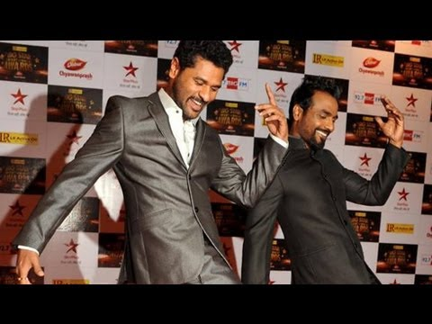 Prabhudeva & Remo D'Souza @ Big Star Entertainment Awards 2012 !