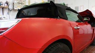 Lackierfehler | Auto Klarlack blättert ab