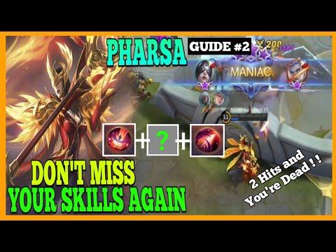 This will make your Pharsa Improve even more | Master the Basics | Pharsa Gameplay | MLBB