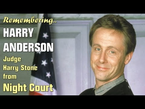 Remembering Harry Anderson - Judge Harry T. Stone From Night Court