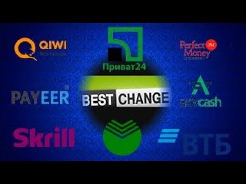 ✅ Мониторинг Обменников BestChange. Обмен электронных денег Webmoney, Qiwi, Яндекс.Деньги