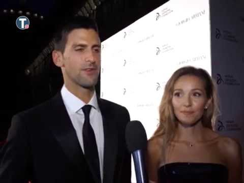 Jelena and Novak Djokovic about NDF