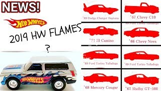 2019 Hot Wheels HW Flames Model Cars Revealed, Kmart Collectors Day And More. NEWS #49