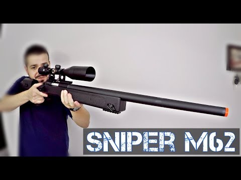 RIFLE SNIPER M62 DOBLE EAGLE | Airsoft Review | FBAIRSOFT