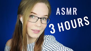 3 HOURS of ASMR In The Dark - Slow and Delicate - For Study or Work - NO TALKING