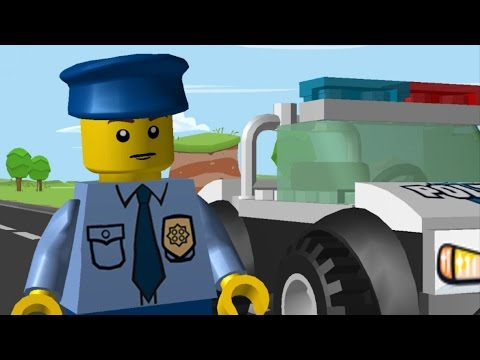 LEGO Juniors Quest - Police Officer | Animation (Cartoon) full movie 4 kids