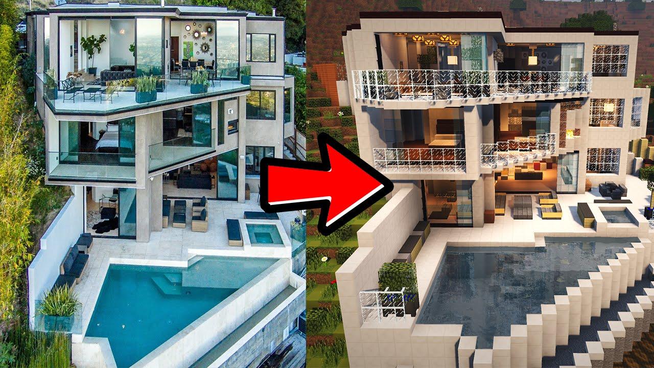 CaptainSparklez Mansion in Minecraft wDownload YouTube