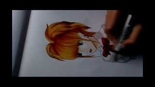 Draw with me 7. Misa Amane (Death Note)