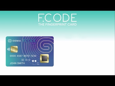 Biometric Payment Card: turning your fingerprint into your PIN