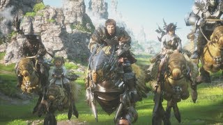 Final Fantasy XIV trailer