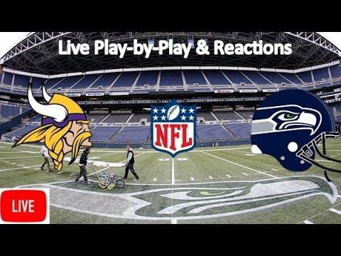 Minnesota Vikings Vs. Seattle Seahawks Live Stream   Live Play-by-Play, Reaction   NFL