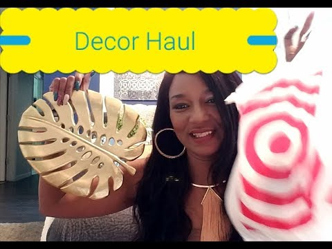 HOME DECOR HAUL: TJMAX | BURLINGTON | TARGET