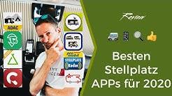 Wohnmobil Stellplatz App Test - das sind meine Favoriten 2020