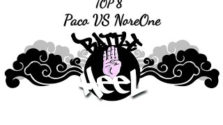 PACO VS NORE ONE | Top 8 | Battle For Heel 2015