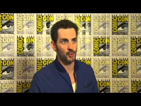 Hannibal: Aaron Abrams Comic Con 2014 TV Interview