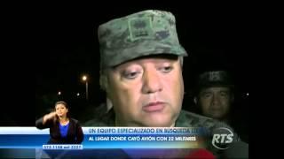 22 militares mueren en accidente aéreo en Pastaza
