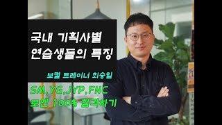 SM,YG,JYP,FNC,로엔 등 연습생들의 합격 특징 알아보기!