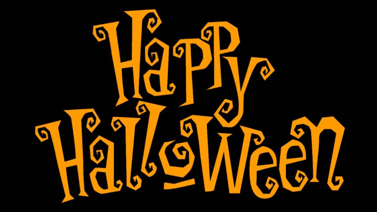 Resultado de imagen de happy halloween letras