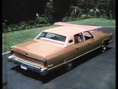 1975 Ford Video Network Lincoln Continental Town Coupe Car