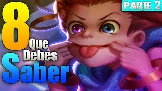 8 palabras que DEBES SABER DEL LEAGUE OF LEGENDS PARTE 2