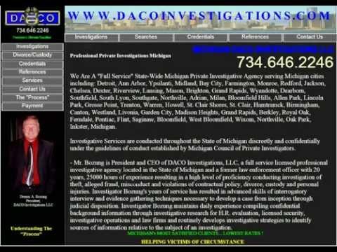 MICHIGAN PRIVATE INVESTIGATORS  DACO INVESTIGATIONS, LLC