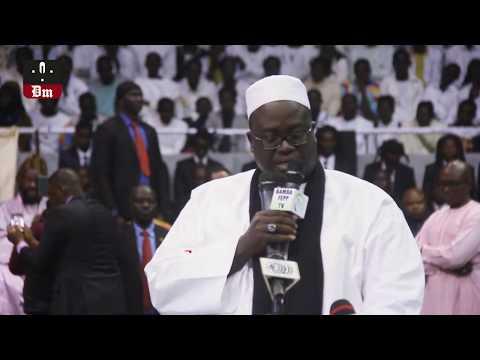 Marius Ndiaye - Serigne A. Gaindé Fatma Délivre Le Message De Touba à S. Modou Kara Mbacké
