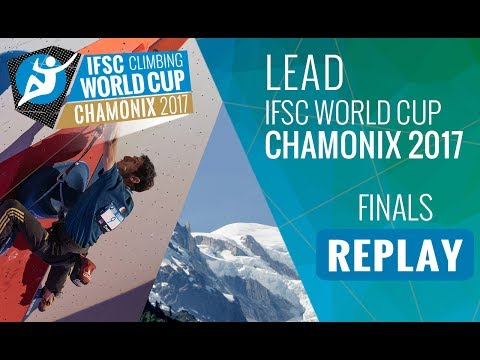IFSC Climbing World Cup Chamonix 2017 - Lead - Finals - Men/