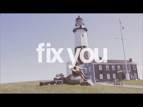 Fix You - Coldplay (cover) | Reneé Dominique (Live from Montauk, New York!)
