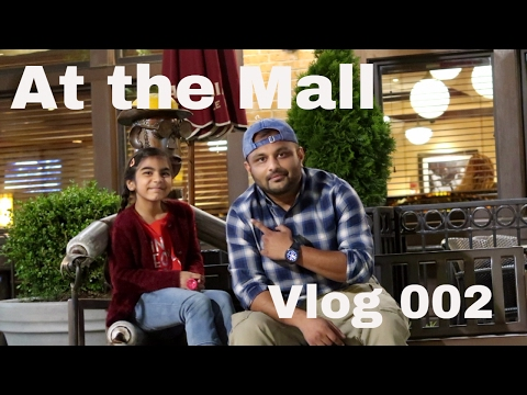 At the Mall in Columbia with Fajar