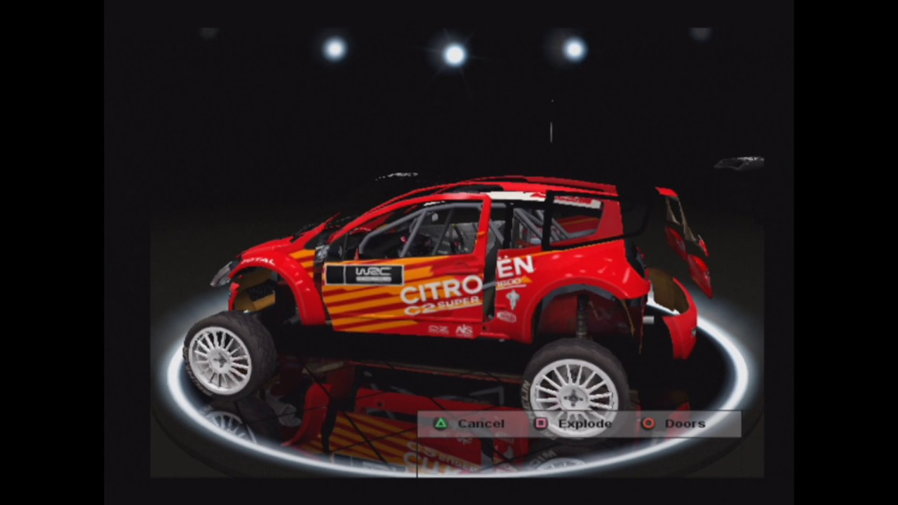 WRC 4 - PS 2 - List of cars, drivers and evolutions including ...