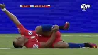 Chile vs Argentina FULL MATCH + penalty+ celebration chili  Final Copa América 2016