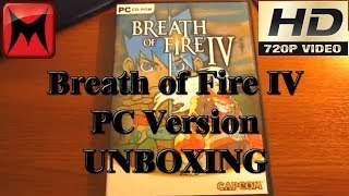 Breath of Fire IV PC Version Unboxing and Gameplay Video HD720p