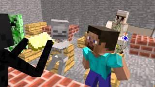 【Minecraft】マインクラフトがなんとCGアニメ化!!