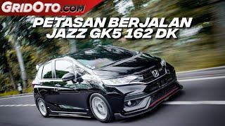 Modifikasi Honda Jazz GK5 Pakai Knalpot Ngeblar Tenaga Maksimal | Modifikasi Mobil | GridOto Modif