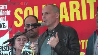 Yannis Varoufakis in Hannover: