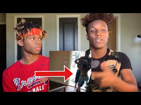 the reason why we haven't been uploading * his sister tried to fight me *