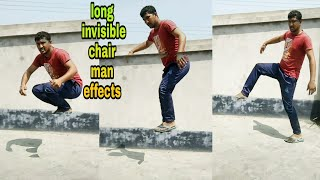 Long Invisible Chair Man Effects Video Editing Kinemaster ।।