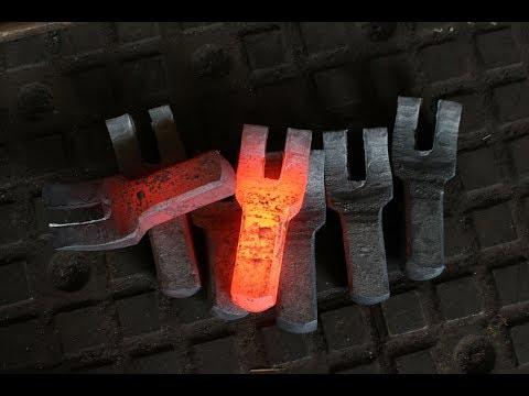 Blacksmithing. В кузнице у Александра Анатольевича. Ковка жд инструмента